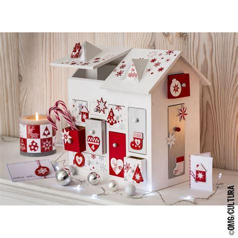 calendrier de l avent maison calendrier de l avent maison 3d 30 cm loisirs cr 233 atifs enfant jouets cultura