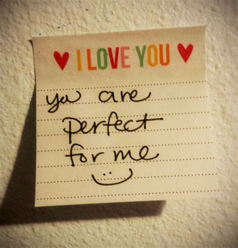 You Are So Perfect For Me Quotes