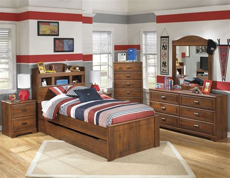 Bookcase Bedroom Set by Barchan Youth Trundle Bookcase Bedroom Set From