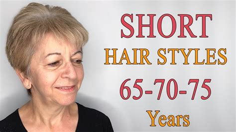 Short Hairstyles For Women Over 65-70-75