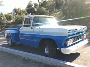1961 Chevy Apache C10 Long Bed Step Side Straight 6 Manual Pwr Steer    Pwr Brake