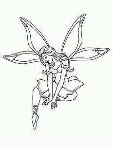 print out coloring pages - free printable fairy coloring pages for kids