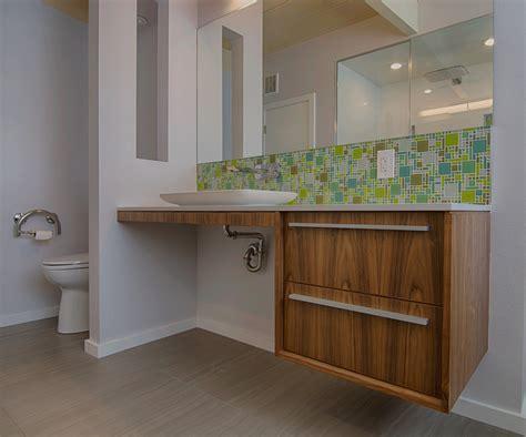 Bathroom Vanity Backsplash Ideas by Bathroom Backsplash Ideas Bathroom Midcentury With Ada