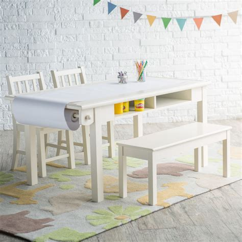 Classic Playtime Vanilla Deluxe Activity Table with Free