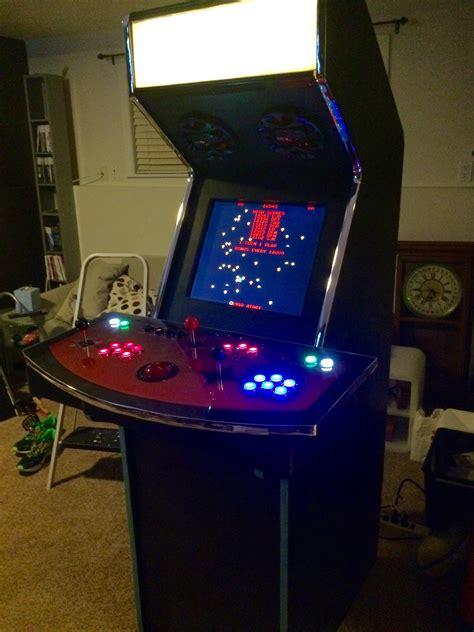 transmogrifier  raspberry pi based arcade cabinet