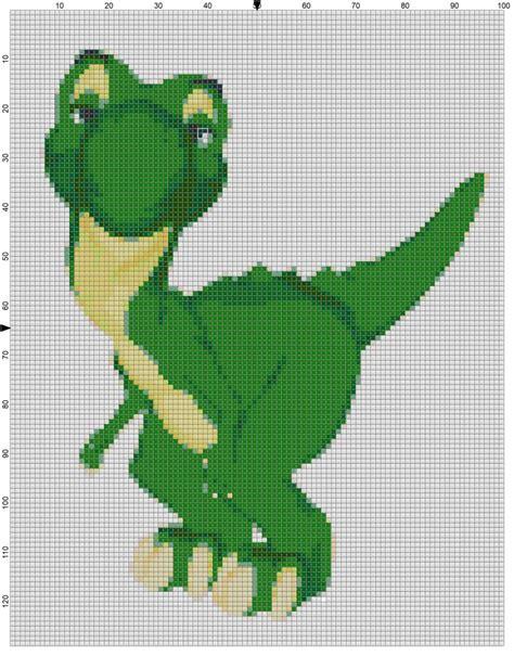 cross stitch pattern  rex  breaks