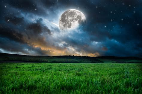 Full Moon Beautiful Hd Desktop Wallpapers