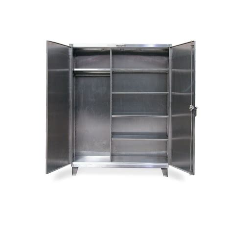 Strong Hold  Stainless Steel Uniform Cabinetstainless