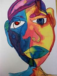 Picasso Abstract Self Portrait