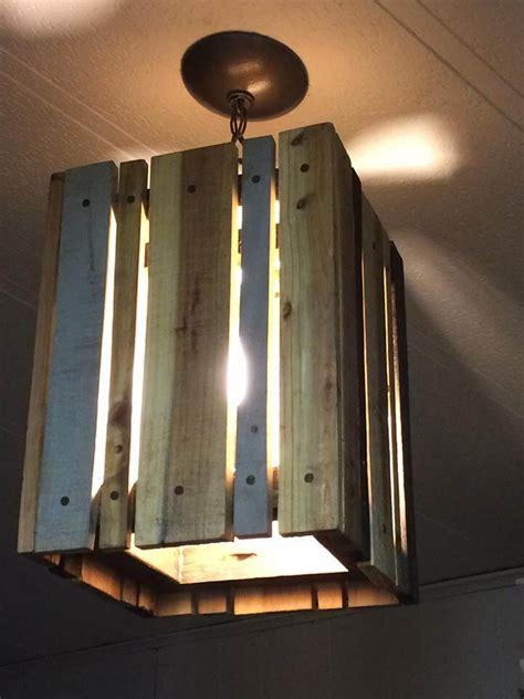 Pallet Pendant Light   99 Pallets