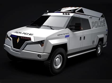Carbon Motors Tx7 Multimission Vehicle Reporting For Duty