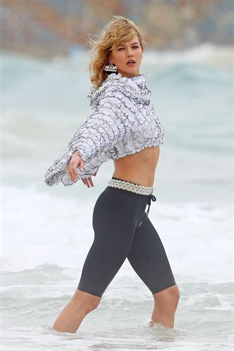 Karlie Kloss Photoshoot Bondi Beach Australia