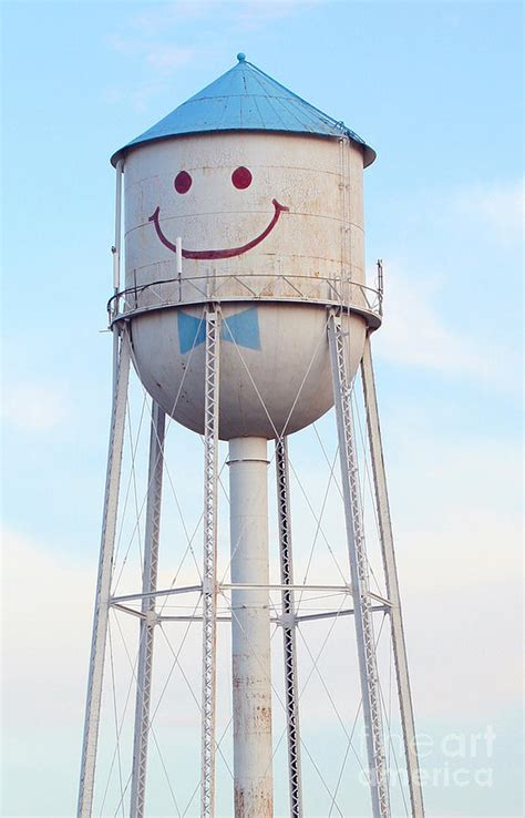 Smiley The Water Tower Photograph by Steve Augustin