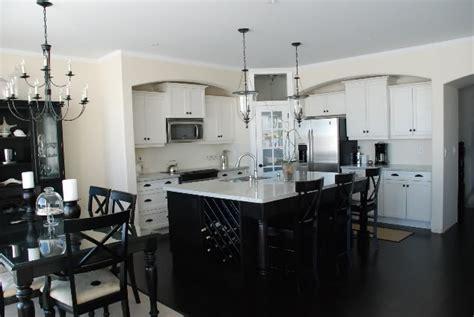 white kitchen with black island kitchen black and white kirstie alterator 39 s