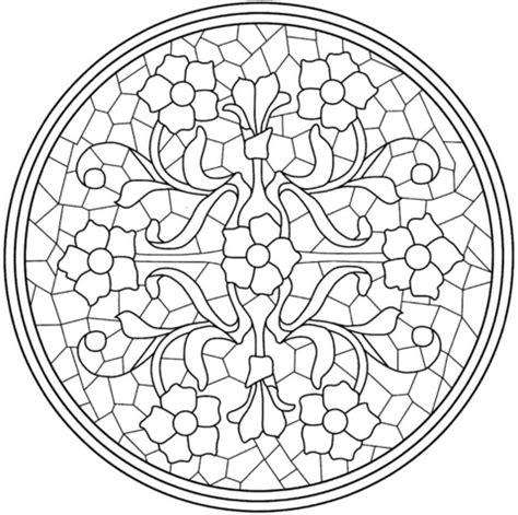 Vorlagen Für Mosaikbilder by Ausmalbild Mandala Mit Blumen Mosaik Fliesen Kategorien