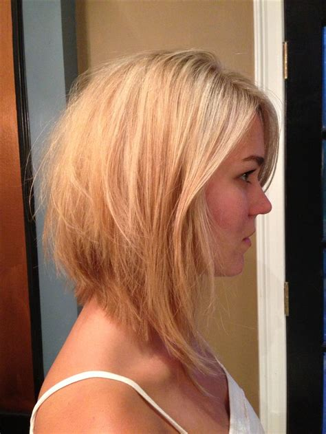 cute long bob haircut copperheadsalon
