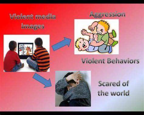 impact  media violence  children general tips