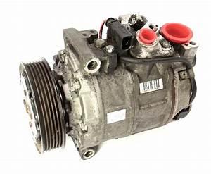 Ac A  C Compressor 02-03 Audi A4 B6 1 8t 3 0