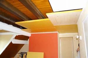 Isolation Thermique Sous Carrelage : isolation sous plafond maison travaux ~ Dailycaller-alerts.com Idées de Décoration