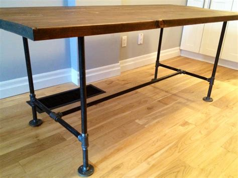 how to make desk legs great details including supply list for a diy table with