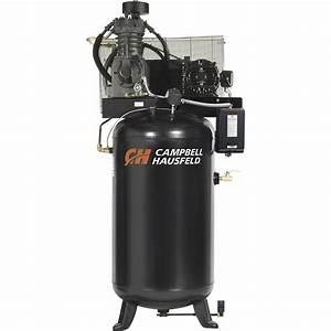 Campbell Hausfeld Fully Packaged Air Compressor  U2014 5 Hp  16