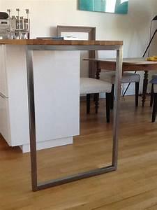 Pied De Table Inox Ikea Great Fabulous Pied De Meuble De