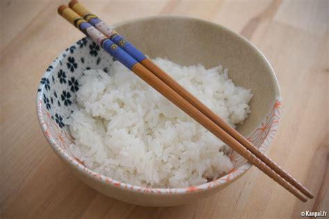 riz cuisiné recette du riz japonais