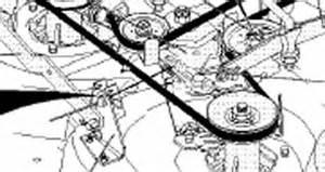 36 inch craftsman lt1000 deck belt diagram 36 free
