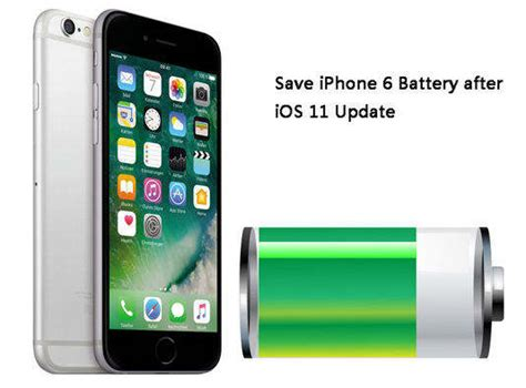 save battery iphone 6 top 8 tips to save battery life on iphone 6s 6 ios 11 11 1 Save