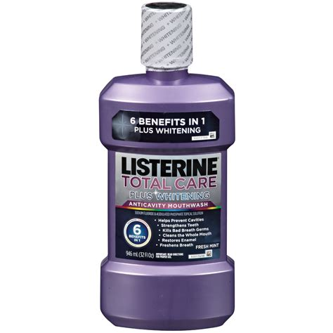 Listerine Whitening Mouthwash Review - Get Healthy Teeth!