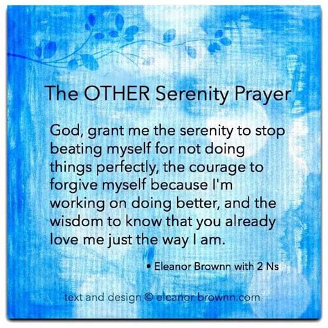 serenity prayer and other quotes
