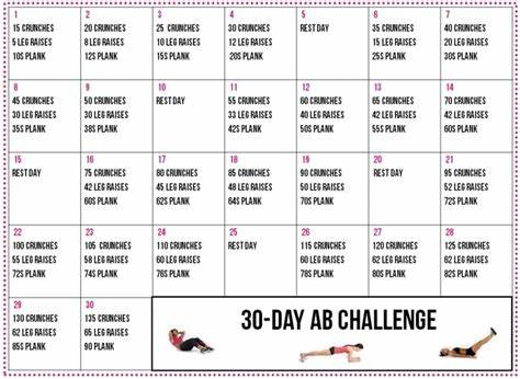 Schedule Squatting In March 30 Day Ab And Back Printable Calendar