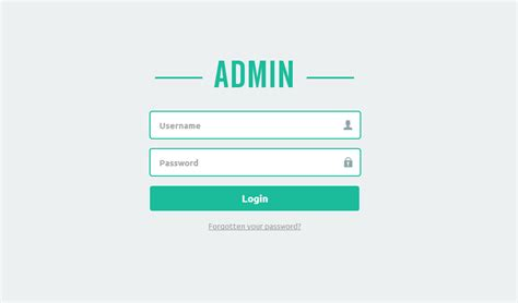 Siimma's Clean Admin Panel Login [coded]