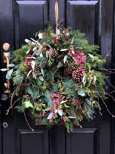 contemporary christmas wreath reath ideas