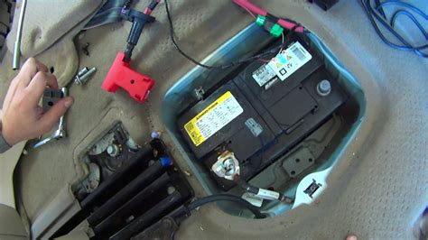 replace battery  gmc acadia chevy traverse