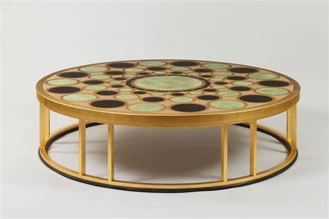 Gold Leaf Coffee Tables  Coffee Table Design Ideas