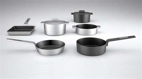 contemporary industrial cookware aroma collection  valira
