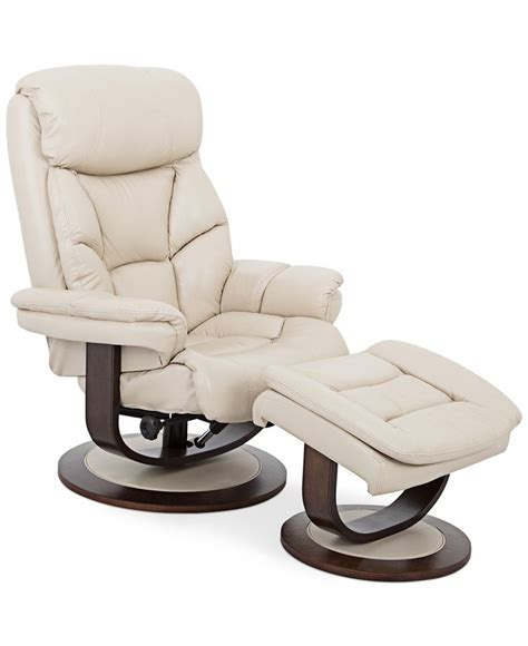 leather chair with ottoman aby leather recliner chair ottoman recliner chairs