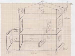 Plan Pour Maison : etape 3 faire les plans de la maison maison pour barbie ~ Melissatoandfro.com Idées de Décoration