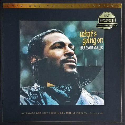 Marvin Gaye Whats Going On MFSL numbered 180gm vinyl 2 LP ...