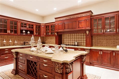 mahogany kitchen island 37 l shaped kitchen designs layouts pictures
