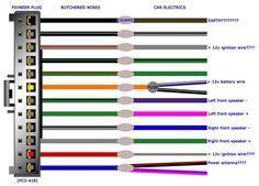 Pioneer Stereo Wiring Diagram Cars Trucks Pinterest