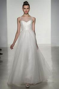 10 divine wedding dresses from amsale fall 2014 onewed With amsale wedding dresses