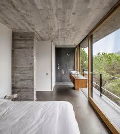bathroom wood ceiling ideas appealing mediterrrani residence interior with solid concrete floor and ceiling lacquered wood