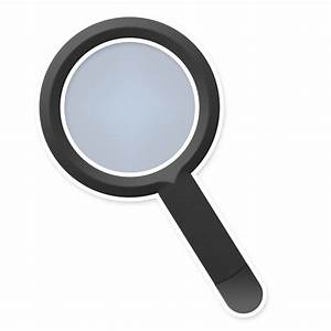 FREE Magnifying Glass Icon PNG | Tidy Design Blog