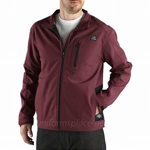 Dickies Jacket Mens Performance Softshell Full Zip Jackets