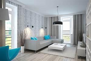 Weiß Grau Wohnzimmer : wohnzimmer in t rkis einrichten 26 ideen und farbkombinationen ~ Indierocktalk.com Haus und Dekorationen