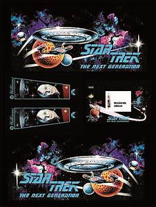 decals adesivi set pvc pinball star trek the next With kitchen cabinets lowes with star trek stickers