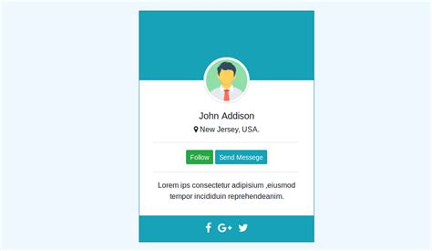 card designs bootstrap  resume layout