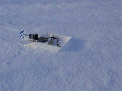 Snow Boat Sled by Snowboat Rc Snow Jet Sled